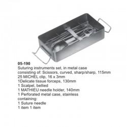 Suturing Instrument Set. Pocket Instrument Set
