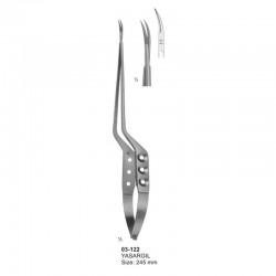 Micro Scissors (Spring Type ) bayonet-Shaped
